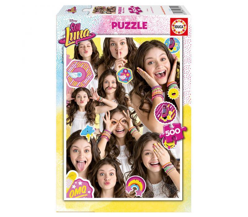 Educa Soy Luna puzzle, 500 darabos